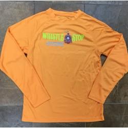 WS long-sleeved womens Orange Shirt
