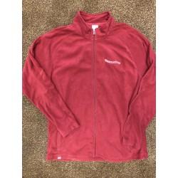 WS Maroon Fleece Full Zip  Jacket