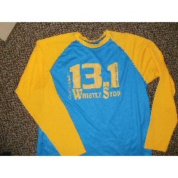 WS 13.1 Blue/Gold Long-Sleeve Shirt