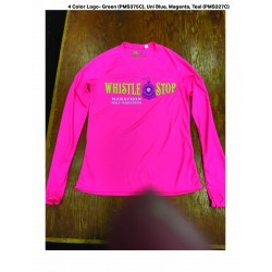 WS Long sleeved pink shirt
