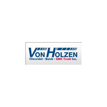 $25.00 Von Holzen Chevrolet, Buick & GMC Gift Certificate