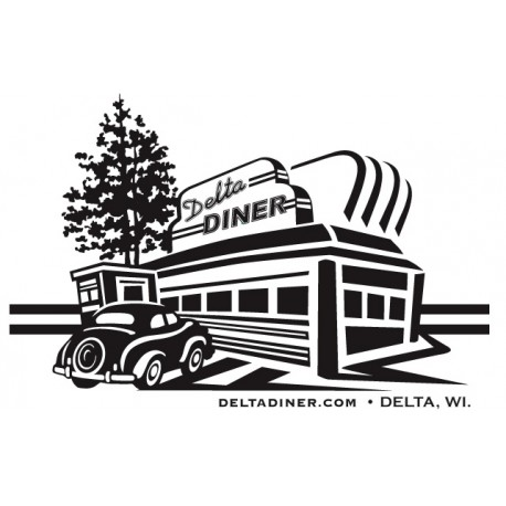 $25.00 Delta Diner Gift Certificate