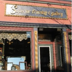 $25.00 Superior Framing & Gallery Gift Certificate