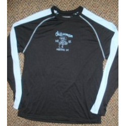 Chick Black/Ligh Blue Long Sleeve Shirt